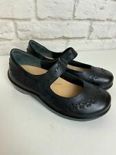 Ziera Gummibear Mary Jane Shoes Black Leather Size 38 W Super Support Womnen A62