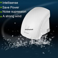 2000W High Speed Hand Dryer Infared Sensor Automatic Electric Fast Drying White