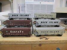 proto 2000 atsf santa fe Rock Island hoppers NIB RTR