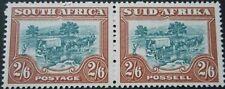 South Africa 1949 2/6 pair SG 121 u/mint