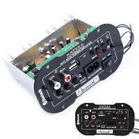 50W Accessori Auto HiFi Bluetooth Bass Amplificatore Audio USB TF MP3 FM DC Cavo