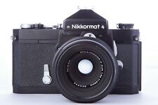 Nikkormat FTn + Nikon 55mm f/3.5
