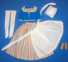 Vintage Doll Travel Costume Near Complete BARBIE in Holland 1964 #0823 #823