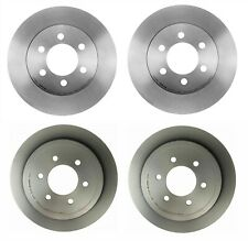 For Ford Lincoln Mark VI Mercury Set of 2 Front Disc Brake Rotor Opparts