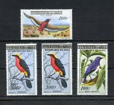 MALI 1960 BIRDS SURCHARGED OR OVERPRINTED  SCOTT#C5/C8  MINT NEVER  HINGED
