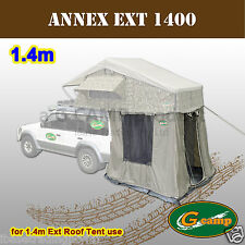 G CAMP ANNEX FOR 1.4M EXT ROOF TOP TENT CAMPER TRAILER 4WD 4X4 CAMPING CAR FREE