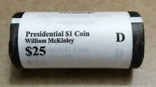 "2013 D William McKinley Presidential ""Unopened"" Mint Dollar 25 Coin ROLL"