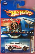Hot Wheels First Editions  Toyota AE-86 Corolla 2/38 NIP