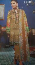 Pakistani unstitch 3pc lawn shalwar kameez suit summer collection