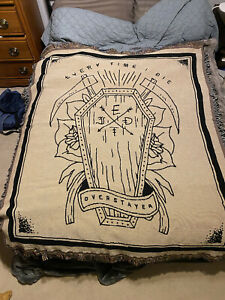 Every Time I Die Overstayer Blanket wall flag ETID rare Tapestry Banner