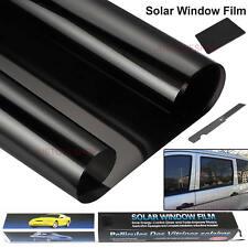 Black Car Privacy Glass Window Tint Film Reduce Sun Glare Universal 3m*50cm Kit