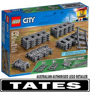 LEGO 60205 TRAIN TRACKS 2018 - City  from Tates Toyworld