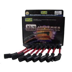 Taylor Spark Plug Wire Set 79206; 409 Pro Race 10.4mm Red for Chevy LS Trucks