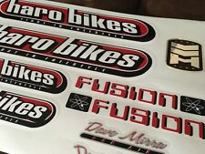 1999 - 2000 Haro Dave Mirra 540 Air Signature Series Decal Set Complete Red