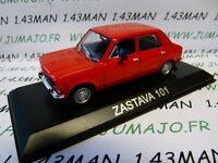 BAL1H Voiture 1/43 IXO DEAGOSTINI Balkans : ZASTAVA 101 (Fiat 128/simca 1100)