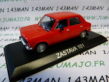 Voiture 1/43 IXO DEAGOSTINI Balkans : ZASTAVA 101 (Fiat 128/simca 1100)