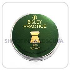 Bisley Practice .22 (5.5mm) ~Tin of 200 pellets for Air Gun Rifle Pistol