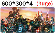 Big mouse pad, For world of warcraft. king of draenor.All ethnic hero collection