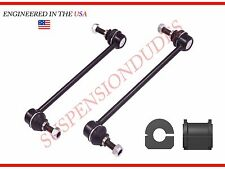4PC Front Sway Bar Links+Rear BUSHINGS 04-08 CHEVROLET MALIBU K80252 17.9MM BAR