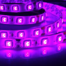 12V UV Ultraviolet 5M 5050 SMD 300 Leds LED Strip Light Lamp Pink Waterproof