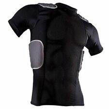 Cramer Lightning 5 Pad Football Shirt With Integrated Rib, Spine and Pads, Large