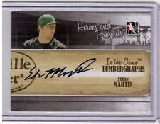 ETHAN MARTIN 2011 ITG LUMBERGRAPHS RC Auto Autograph Signed COA Card #L-EM