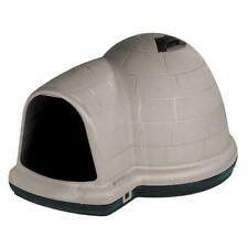 Igloo-Shaped Indigo Dog House With Microban 25-50 Lbs Medium Size Heavy-duty