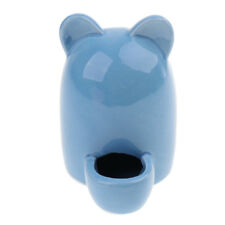 Hamster Food Ceramics Feeder Small Pet Automatic Water Feeder for Small Pet