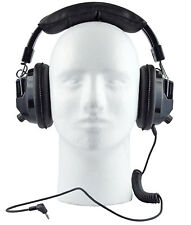 Over Head Racing Scanner Headset Nascar Style Electronics Stereo Headphones NEW