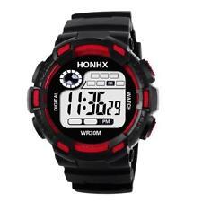 Men Sport Smart Watch Wristwatch Chronograph LED Electronic Date Waterproof Gift
