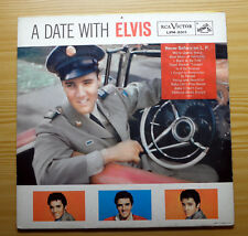 "Elvis Presley USA LP ""A Date With Elvis"" Erstpressung/first pressing + Sticker"