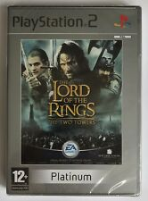 PS2 The Lord of the Rings: The Two Towers, Platinum, Brand New & Factory Sealed
