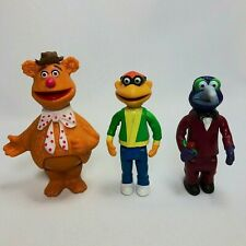 Vintage 1978 THE MUPPETS Fisher Price Players Stick Puppets Fozzie Scooter Gonzo