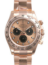 Rolex Cosmograph Daytona 116505 Everose Gold Oyster Pink Index Dial 40mm Watch