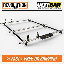Vauxhall Vivaro, Renault Trafic Roof Rack Bars 3 x Van ULTI Bar SWB H1 Low 01-14