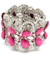 Statement Crystal Wrap Costume Bracelets