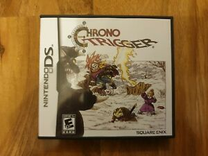 Nintendo DS Chrono Trigger Rare Game Tested Working American Works On UK DS