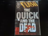 Flash #100 The Quick and the Dead High Grade Comic Book RM6-224