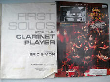 **FIRST SOLOS FOR THE CLARINET PLAYER & CLARINET CHRISTMAS SOLOS WITH CASSETTE**