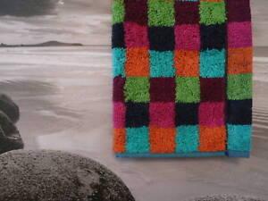 Cawö Lifestyle Multicolour Checks Hand Towel, Shower Sauna Towel Colour 84