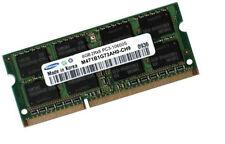 Samsung m471b1g73qh0-ch9 8gb ddr3 SODIMM portátil RAM 1333 MHz 204pin pc3-10600s