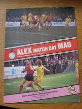 27/12/1980 Crewe Alexandra V Peterborough United (piegato)