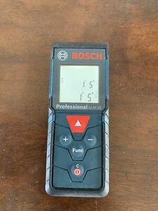 """Bosch Professional GLM 35 Laser Measure  120ft Tested - Range Accuracy +/- 1/16"""""""