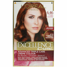 Loreal Paris Excellence Hair Colour Kit - Natural Light Copper Red Number 6.46