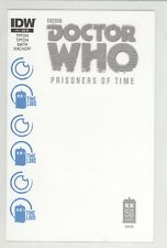 DOCTOR WHO: PRISONERS OF TIME #11 JETPACK COMICS EXCLUSIVE BLANK VARIANT COVER