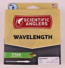 Scientific Anglers Wavelength Titan Fly Line WF6F Green Yellow ON SALE 112475