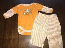 Baby 0-3 Months Baby Gear First Halloween Bodysuit Pants Set Outfit