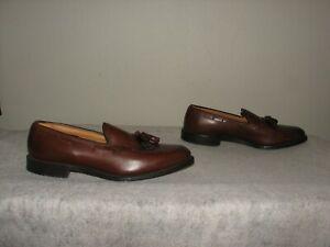 Allen Edmonds Grayson Men Merlot Tassel Slip On Loafer Shoes 10 B