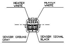Oxygen Sensor CITROEN : PEUGEOT : TOYOTA : LEMARK LLB506