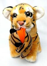 Mint MAMA TIGER with / and BABY CUB Orange & Black STUFFED PLUSH Sweet & So Soft